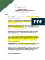 Digest Cosue v Ferritz Burden of Proof Insular