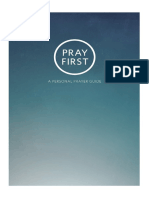 Pray First Booklet