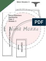 pdf bikini modelo 3 talle 3 bombacha + guia