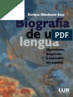 Biografía de Una Lengua (Enrique Obediente Sosa)