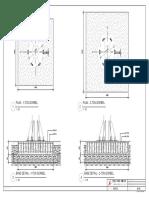 Gorbel Crane Base Detail for 1 Ton and 2 Ton