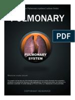 Pulmonary Notes