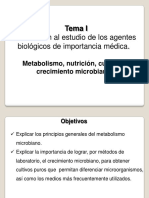 Metabolismo Nutricion Cultivo y Crecimiento Microbiano