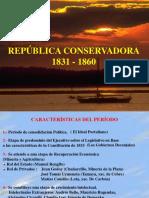 Periodo Conservador en Chile 1833