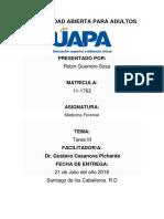 tarea III Medicina Forense.docx