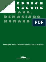 Humano, Demasiado Humano II - Friedrich Nietzsche.pdf