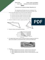 evaluación teorema del seno y coseno