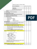 Check List Skill Atonia Uteri Fix