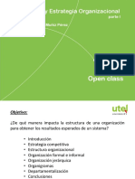 5 Estructura y Estrategia Organizacional Parte I