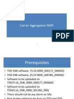 Carrier aggregation