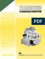 Variable Fill Fluid Couplings KSL