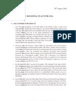 Regional Plan for Goa