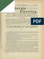 La Energía Eléctrica. 25-9-1911, No. 18