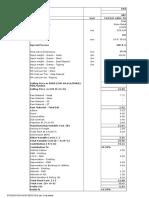 Cost Sheet Vg