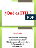 Base de Datos Itil