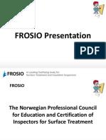 FROSIO Presentation