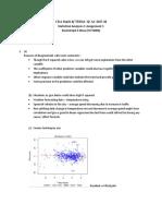 Statistics - Assignment