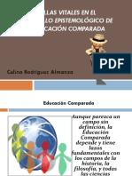 Huellas espistemológicas de la Educ. comparada.pptx