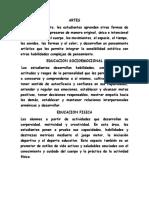 Actividad 5. Estructura Curricular
