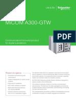 MiCOM A300 GTW