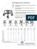 Karman Rollator Series