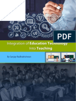 Integration of Education Technology Into Teaching