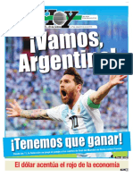 Messi La Esperanza Argentina Mundial Rusia 2018