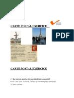 Carte Postal Exercice Present Ou Passe