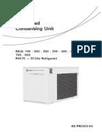trane condensing unit