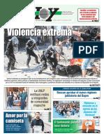 Argentina y la violencia en las afueras Del Congreso Nacional