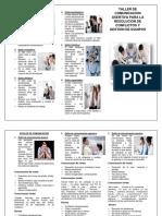 Díptico - Taller Comunicación Asertiva (1)