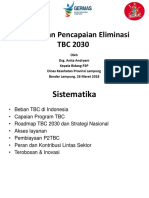 Percepatan Pencapaian Eliminasi TB 2030 seminar.ppt