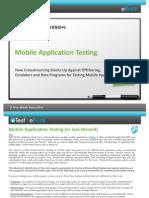 uTest eBook Mobile Testing