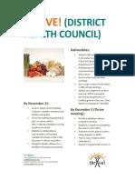 district health council 17-18