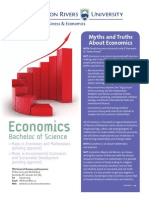 Math and Economics Major - Thompson Rivers