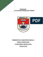 Sampul Panduan Konseling Pkm Margojadi