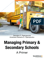 Managing Primary Secondary Schools