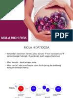 Kultum Mola Hidatidosa & Mola High Risk