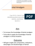 1. Dental Amalgam