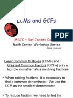 5 LCM and GCF