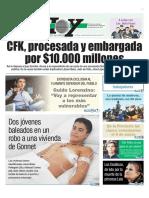 Fernández de Kirchner Procesada por corrupción y embargada por 10 Mil Millones de Pesos