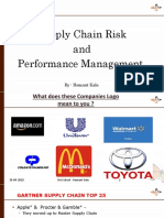 Supply Chain Risks and Performance Mgmt , MMS Semester II [Autosaved]