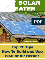 DIY Solar Heater - Top 20 Tips How to Build and Use a Solar Air Heater