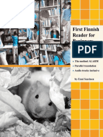 First Finnish Reader for Beginners Volume2 Bilingual for Speakers of English with embedded audio tracks