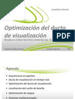Clase-Optimización del ducto de visualización
