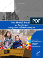 First Finnish Reader for Beginners Bilingual for Speakers of English with embedded audio tracks