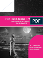 First French Reader for Students Bilingual for Speakers of English with embedded audio tracks