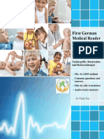 First German Medical Reader for Health Professions and Nursing Bilingual for Speakers of English Bilingual for Speakers of English Beginner Elementary (A1 A2)