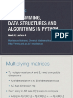 Python Week8 Lecture4 Handout