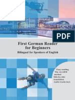 First German Reader for Beginners (Volume 1) Bilingual for Speakers of English Beginner Elementary (A1 A2)